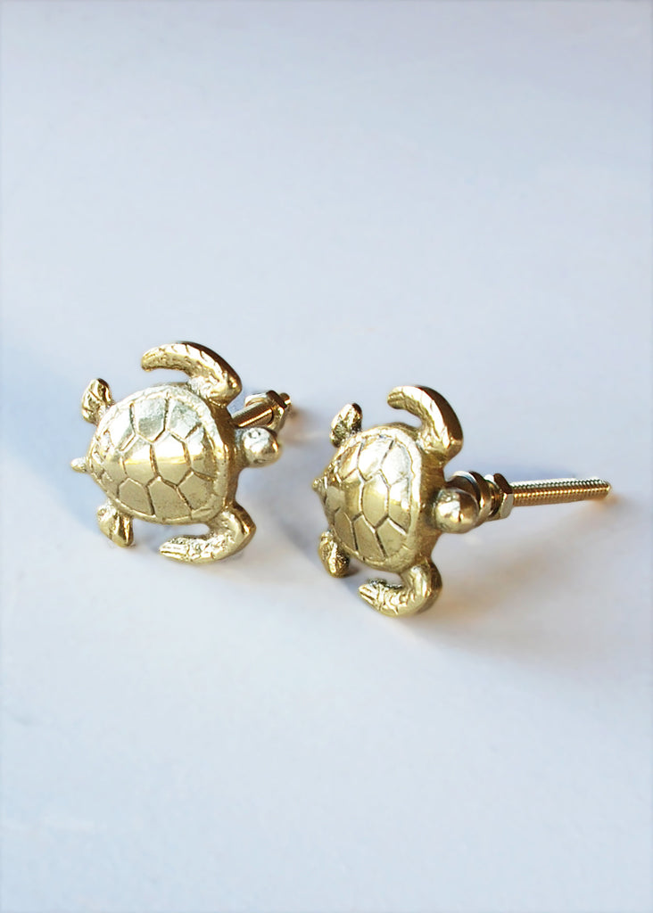 Turtle Cupboard Knobs - Montys Vintage Shop - 2