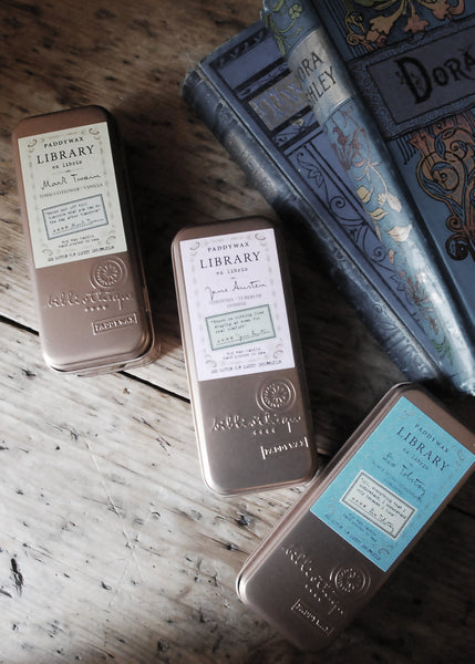 Book Lovers Scented Tinned Candle - Montys Vintage Shop - 1