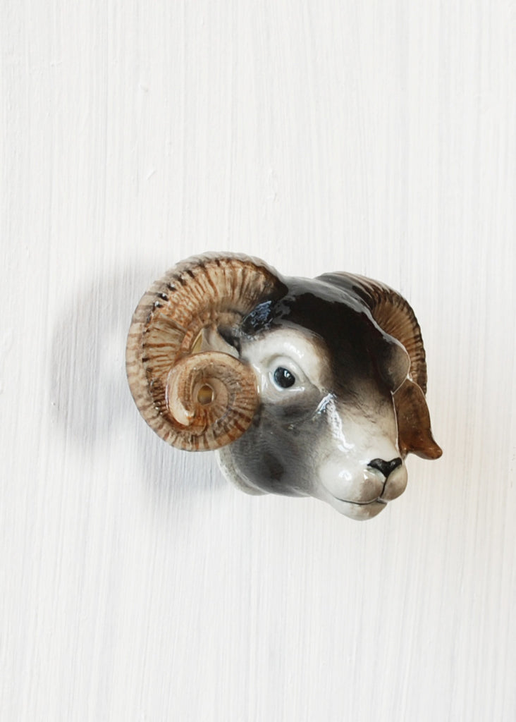 Sheep Head Door Knob - Montys Vintage Shop - 2