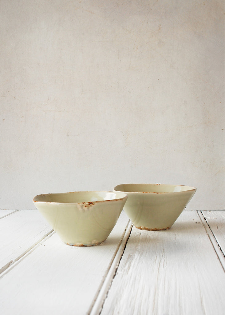 Rustic Ceramic Bowl - Montys Vintage Shop - 3