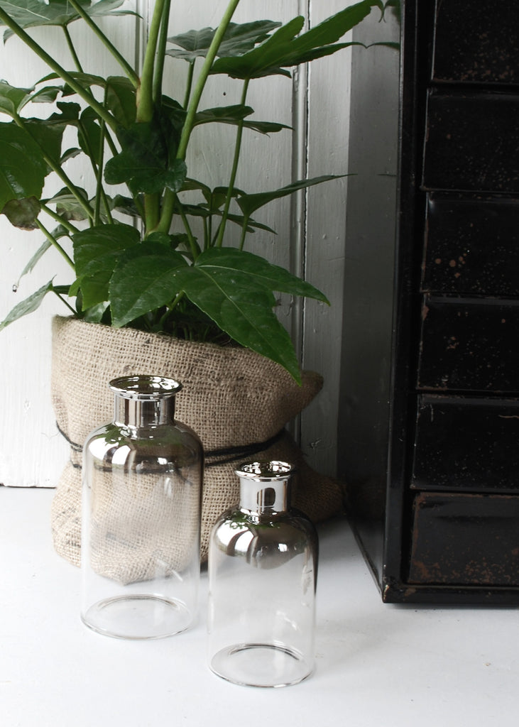 Smoky Grey Bottles - Montys Vintage Shop - 1