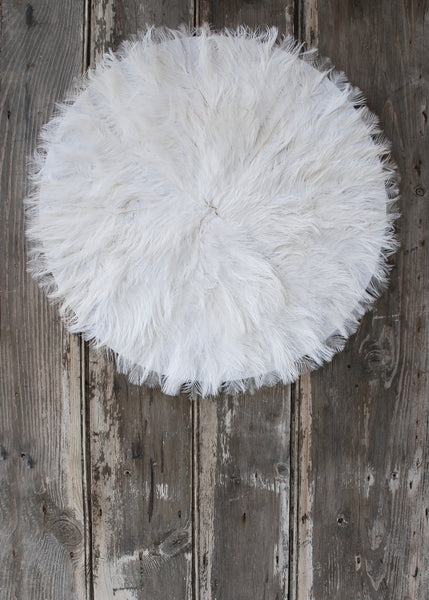 White Feather Wall Hanging - Montys Vintage Shop - 1