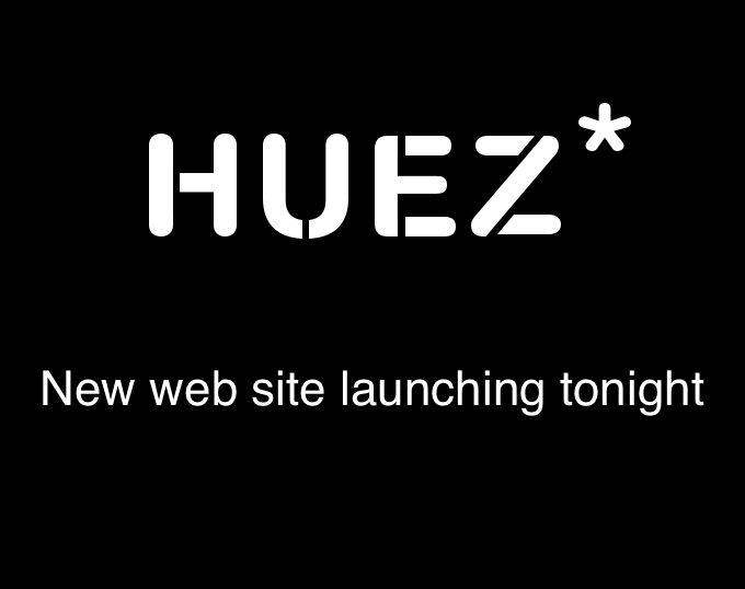 New website launching this evening