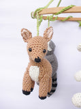 Woodland baby mobile - Crochet on a tree