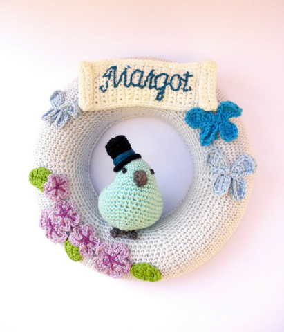 Custom baby wreath