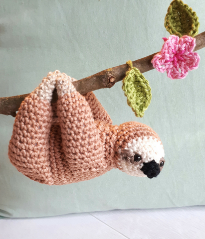 Sloth stuffed toy