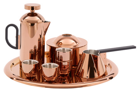 Copper Coffee Set