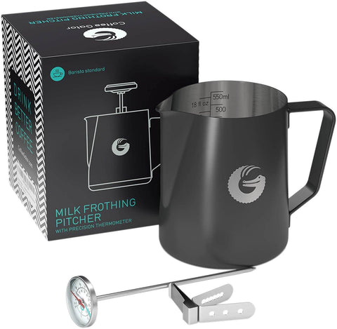 Coffee Gator Milk Frothing Pitcher