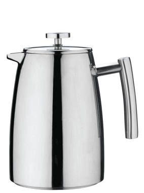 Grunwerg Belmont Double Wall Stainless Steel Cafetiere