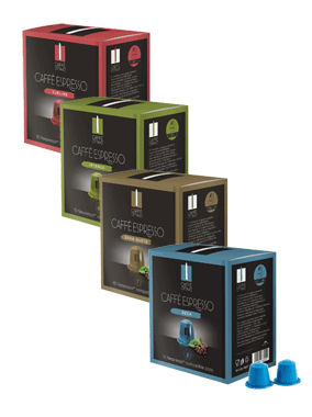 Caffè Ottavo Coffee Pods Mixed Pack - 80 Pack