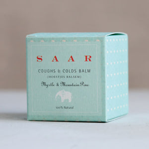 Saar Soleares coughs & colds balm | chest rub for baby & child - SAAR SOLEARES