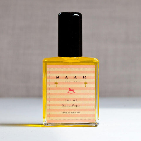 Saar Soleares Fig Organic Perfume Oil : wild fig skin & hair fragrance