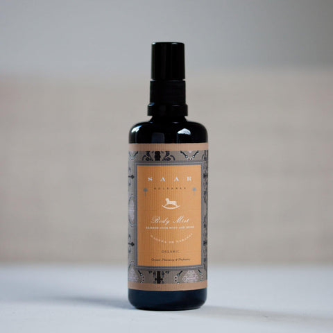 Saar Soleares Madera de Naranja Organic Body Mist: natural hydrating body spray