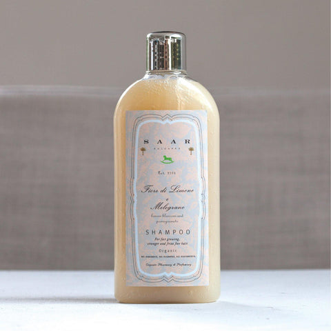organic shampoo : for stronger & frizz free hair