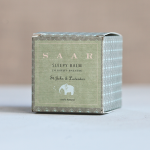 Saar Soleares sleepy balm | better sleep for babies and children - SAAR SOLEARES