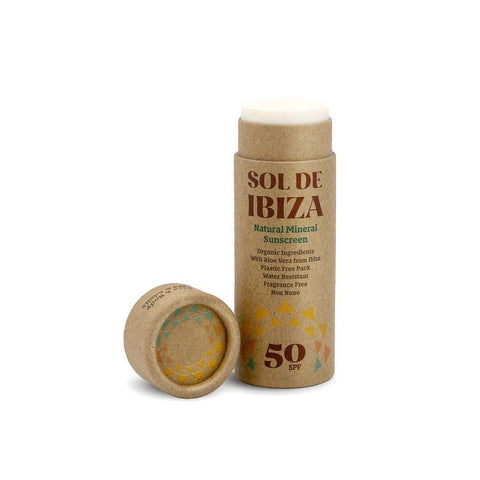 Sol de Ibiza : Natural Mineral Sunscreen 50 SPF