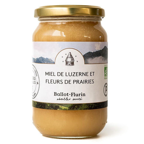 Ballot-Flurin : Biodynamic French Honey {Luzerne & Meadow Flowers} 480 gram