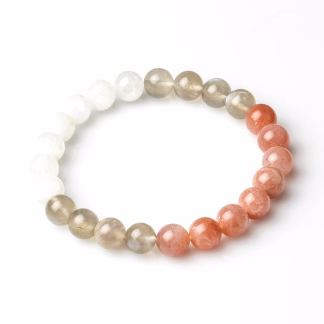 3 COLOURS MOONSTONE FOR WOMEN