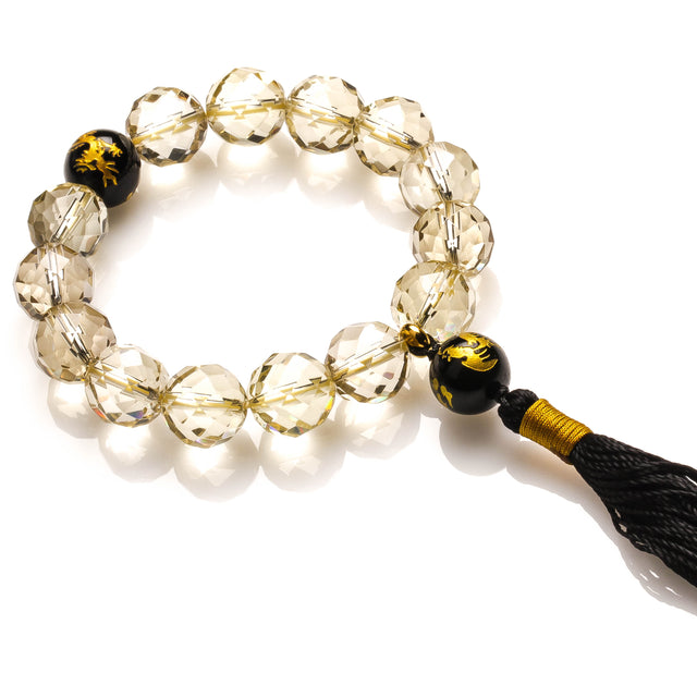 LEMON QUARTZ WEALTH AND JOY BRACELET