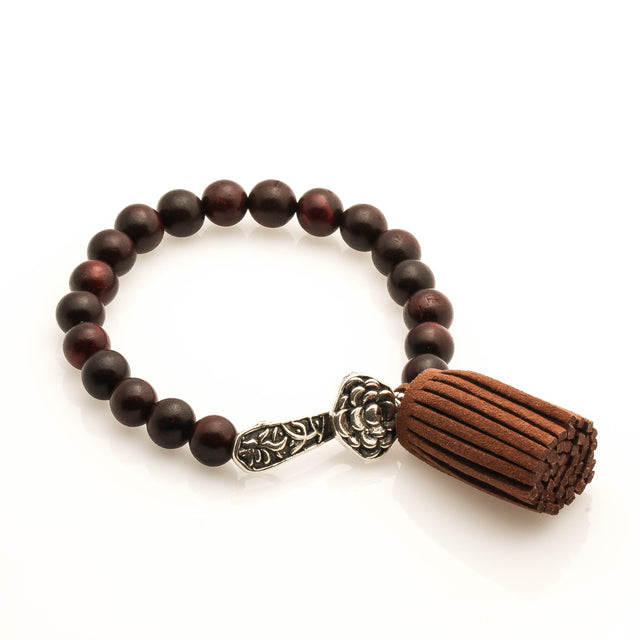 Red Sandal Wood with Ruyi Bracelet