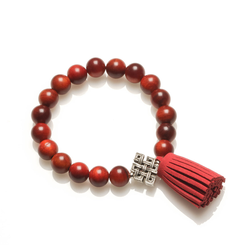 Dragon Blood Wood Protective Good Luck Bracelet
