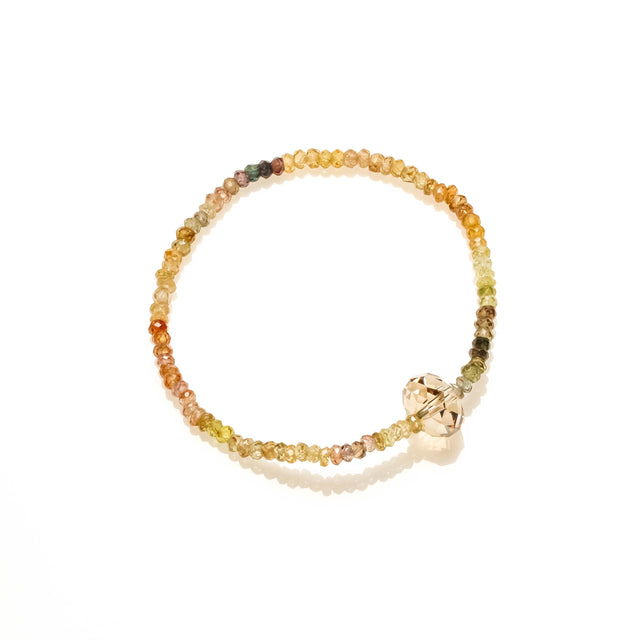 Yellow Zircon bracelet for Success in business and love