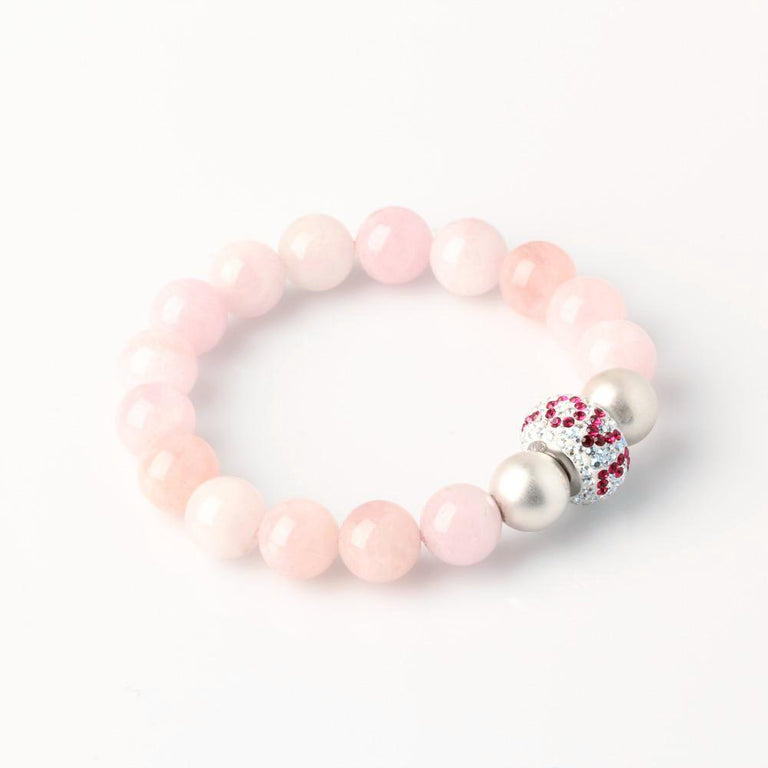 Morganite Love and Relationship Bracelet