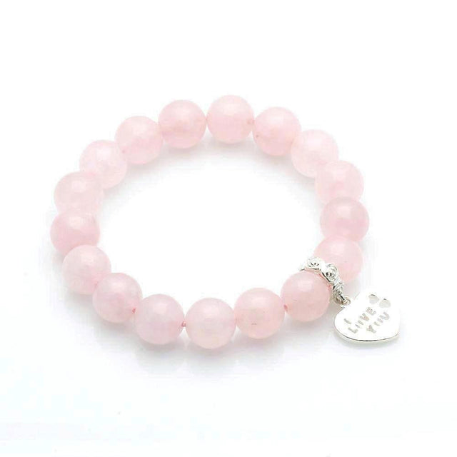 Rose Quartz Love Attracting Bracelet - Feng Shui Jewelry