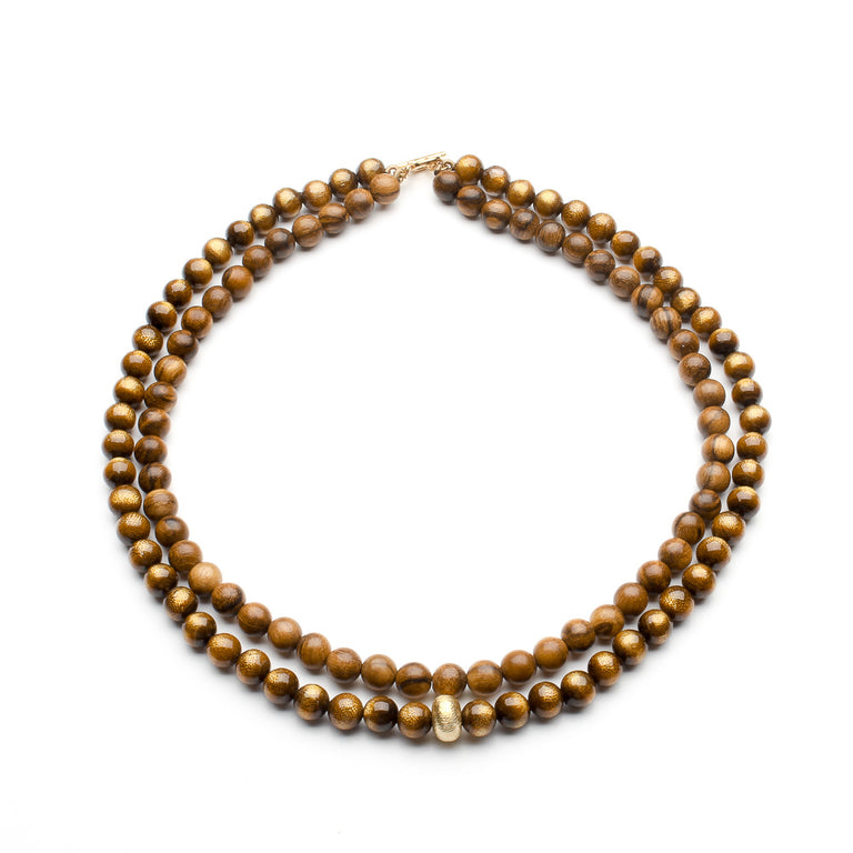 GOLDEN CORAL NECKLACE