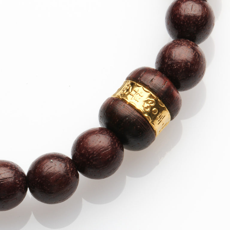 Sandalwood Bracelet for Peace and Security