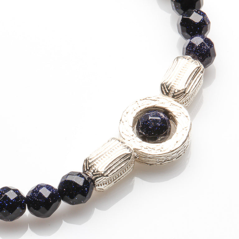BLUE SANDSTONE MENTOR AND SUCCESS BRACELET