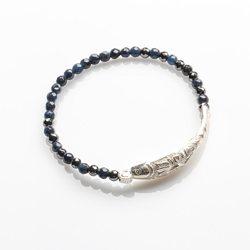 DUMORTIERITE CAREER AND FRESH START BRACELET FOR WOMEN