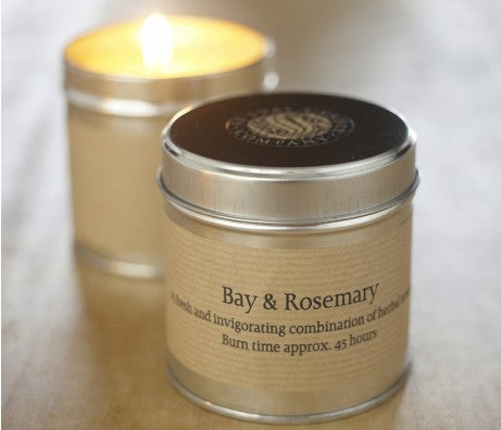 Bay and Rosemary Scented Candle