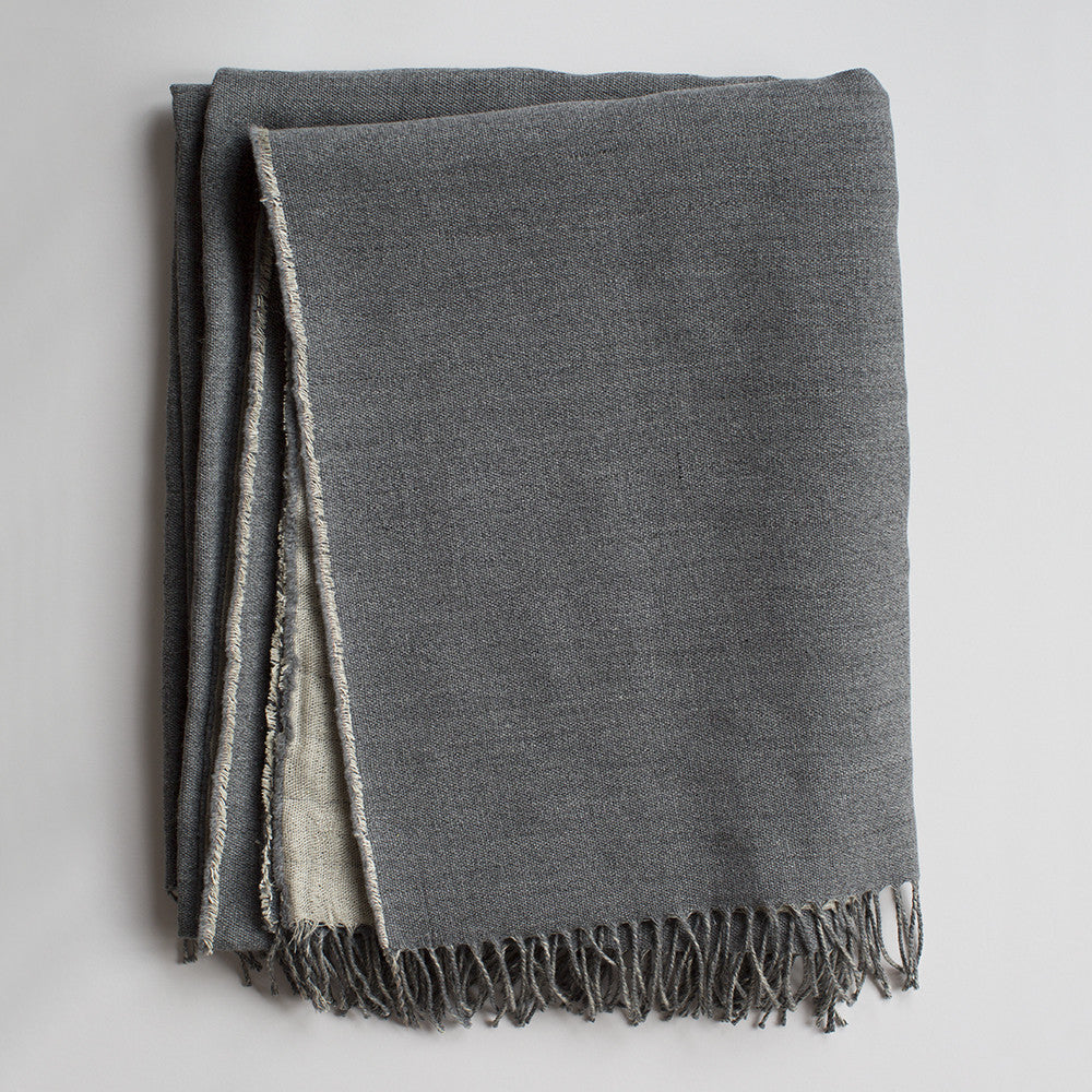 irish linen wool blanket