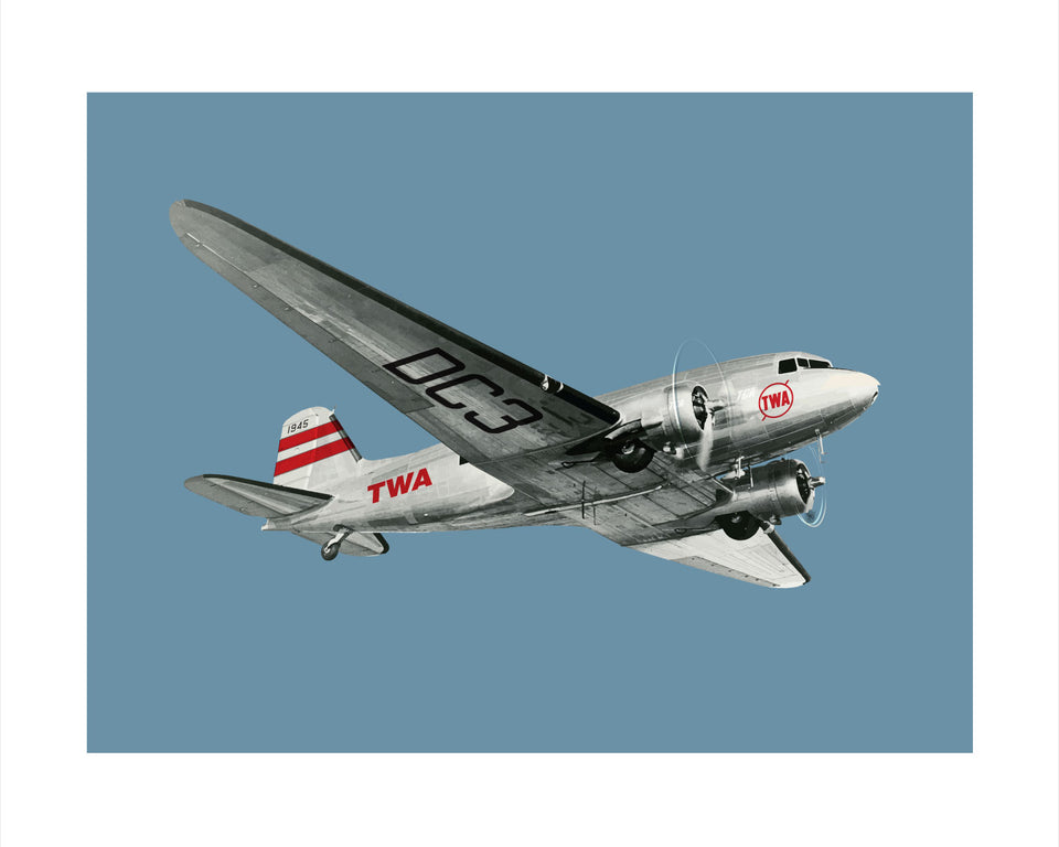 Douglas DC-3: Trans World Airlines