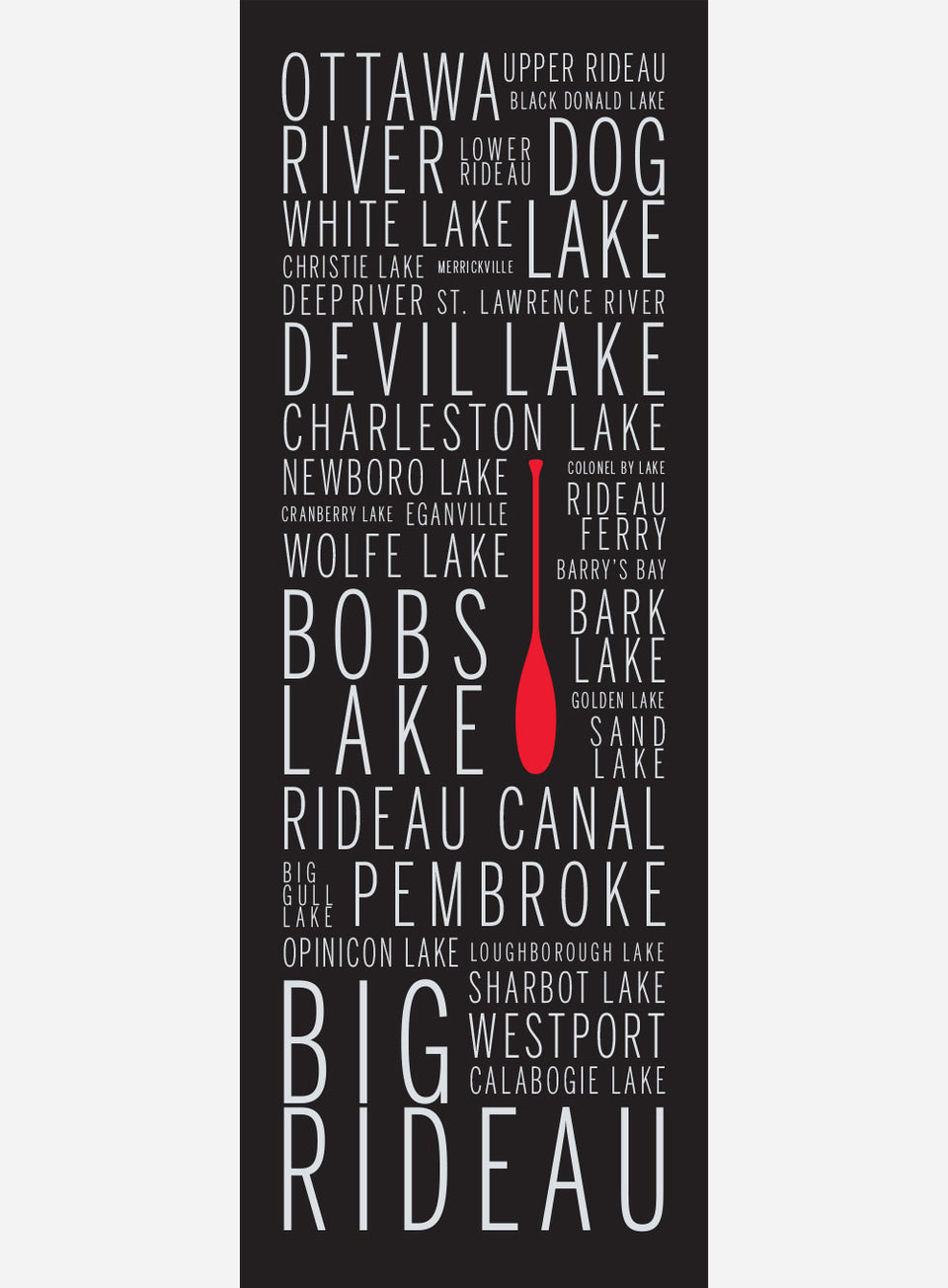 Eastern Ontario Cottage Country Names