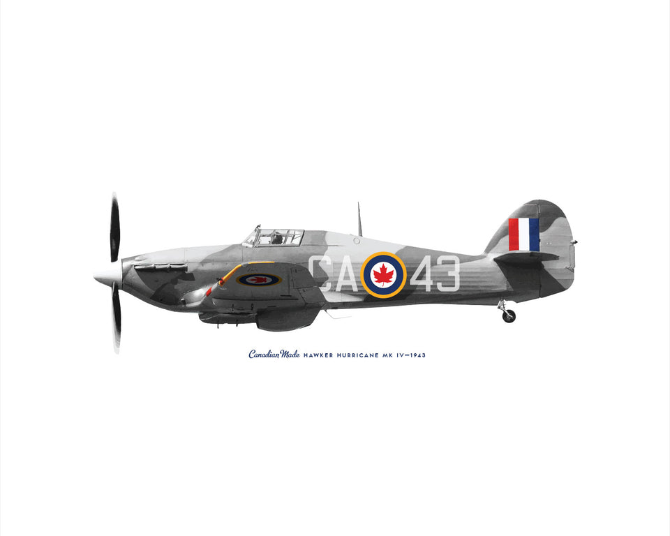 Hawker Hurricane MK IV Fighter