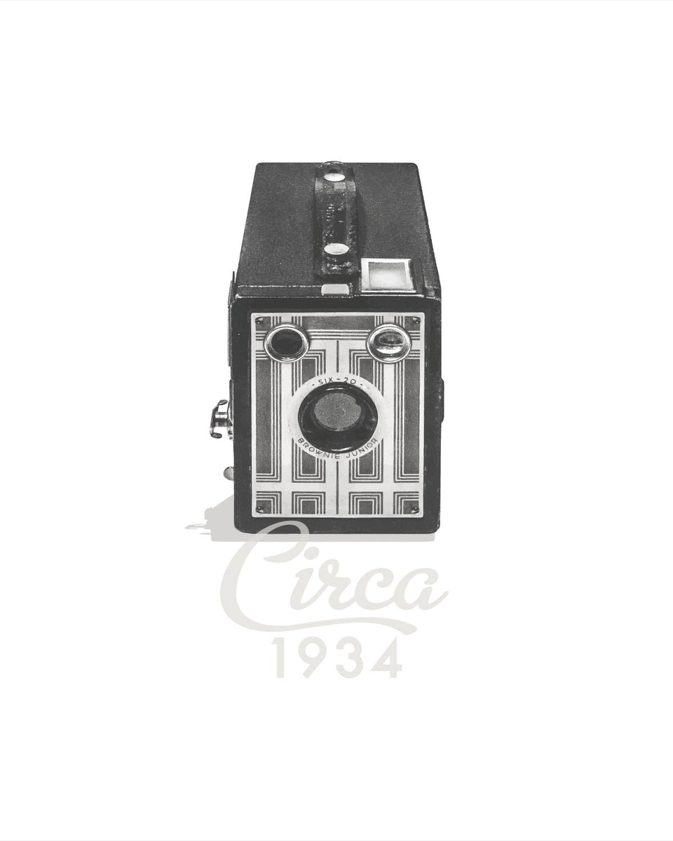 1934 Kodak Brownie Six-20 Camera