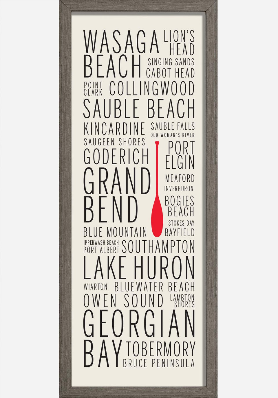 Lake Huron Cottage Country Names