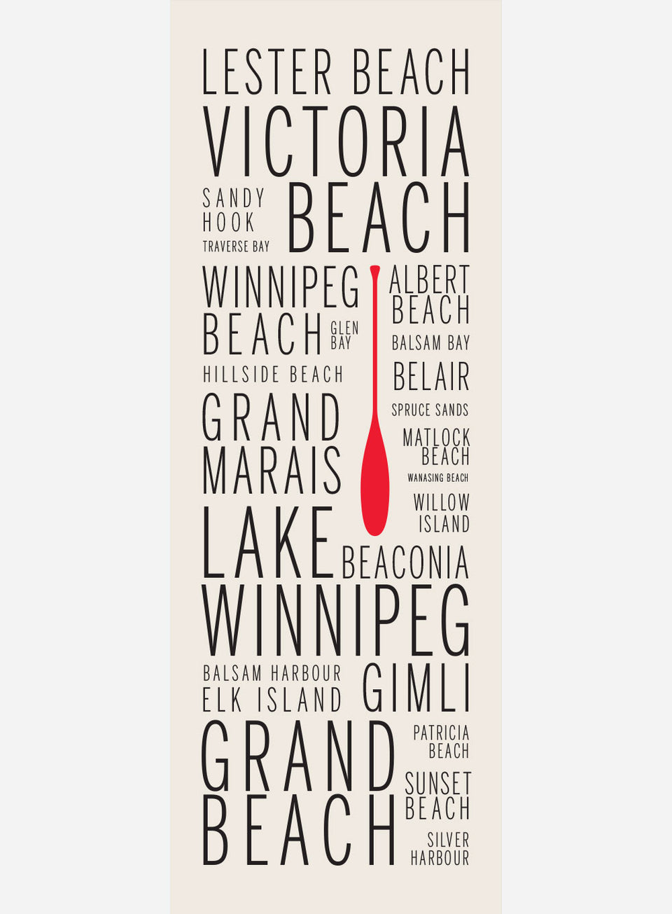 Lake Winnipeg Cottage Country Names
