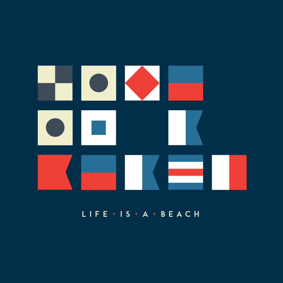 'Life's a Beach' Nautical Humour