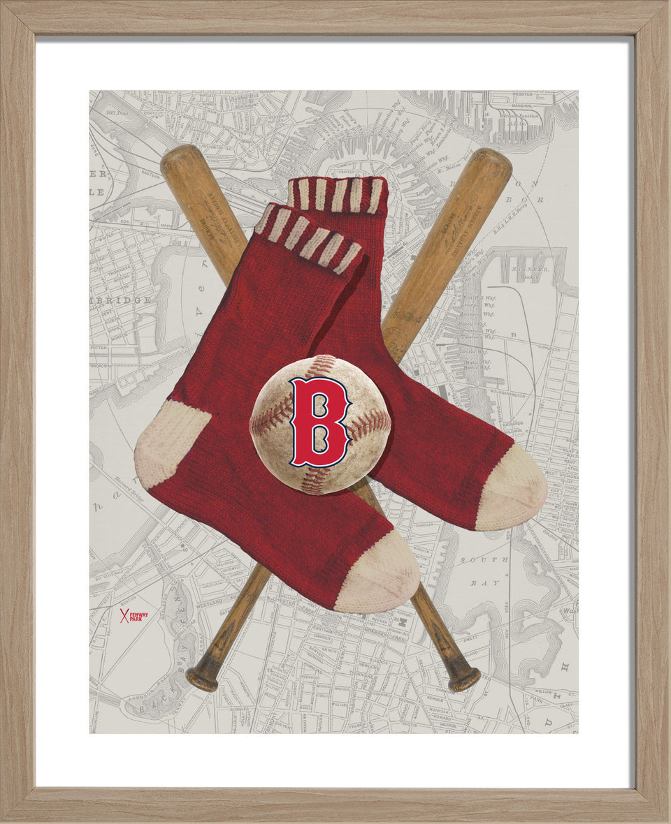 Boston Red Sox-Inspired Baseball