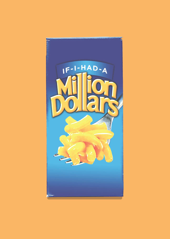 Greeting Card: If I Had a Million Dollars