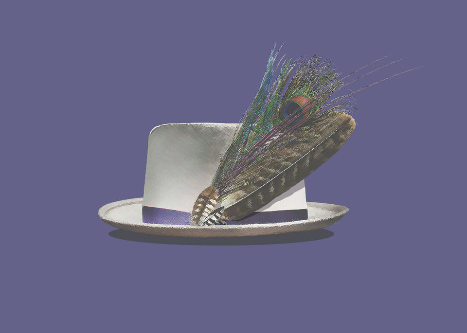 Greeting Card: Gord Downie Spirit Hat