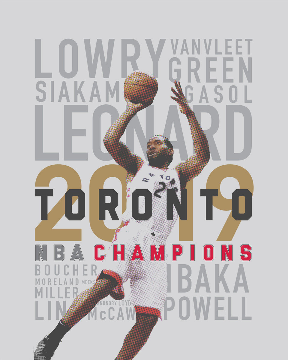 Toronto Raptors: 2019 NBA Champs