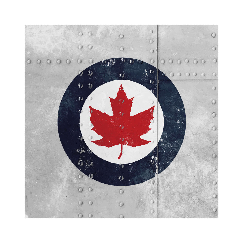 RCAF Riveted Roundel