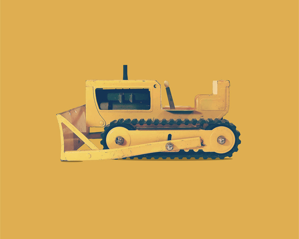 1970s Toy Bulldozer