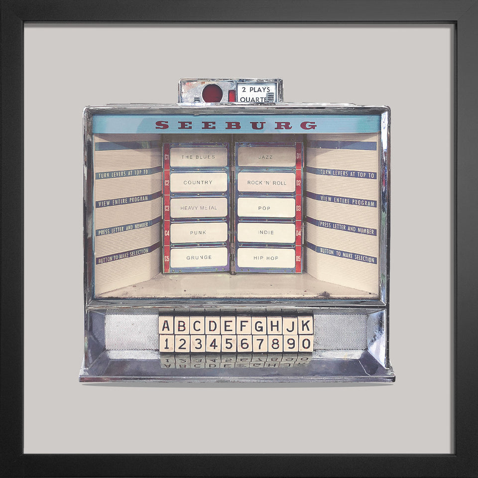 Vintage Seeburg Jukebox