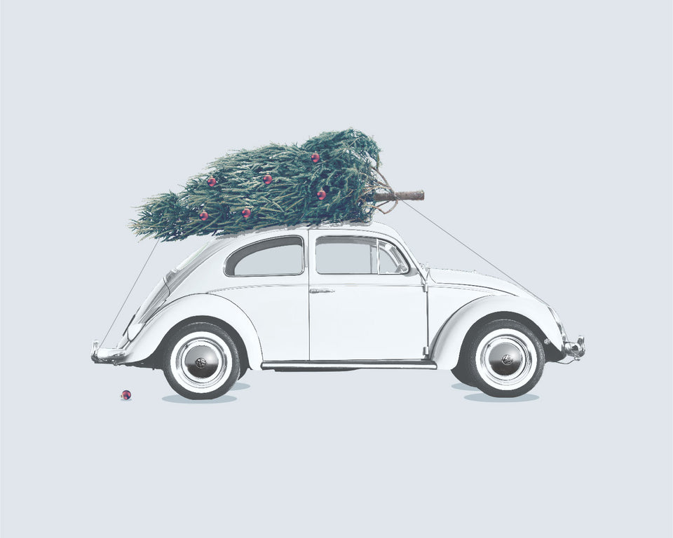 1960s VW 'Christmas Beetle'