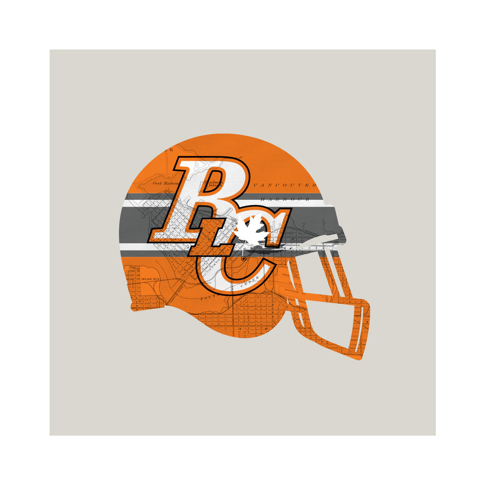 BC Lions-Inspired Football